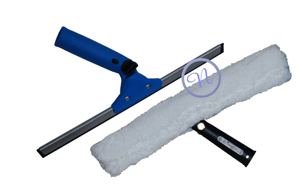 how to clean window squeegee
