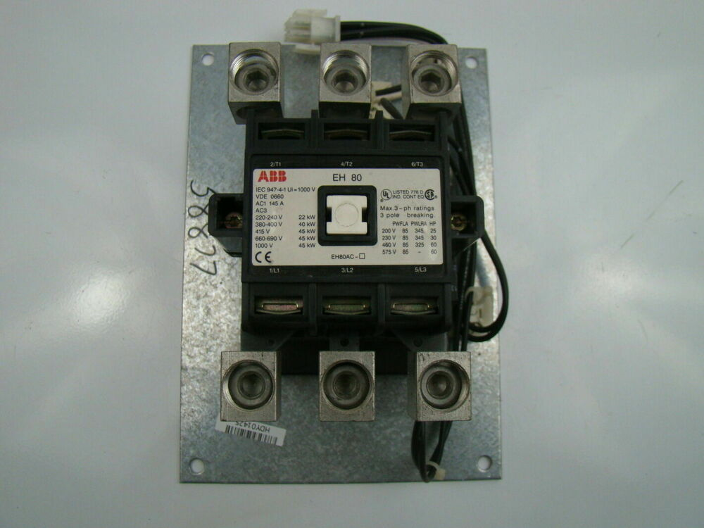 Abb 3 Phase Eh80 Contactor Iec 947