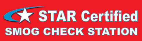 3ftx10ft Star Certified Smog Check Smog Station Vinyl
