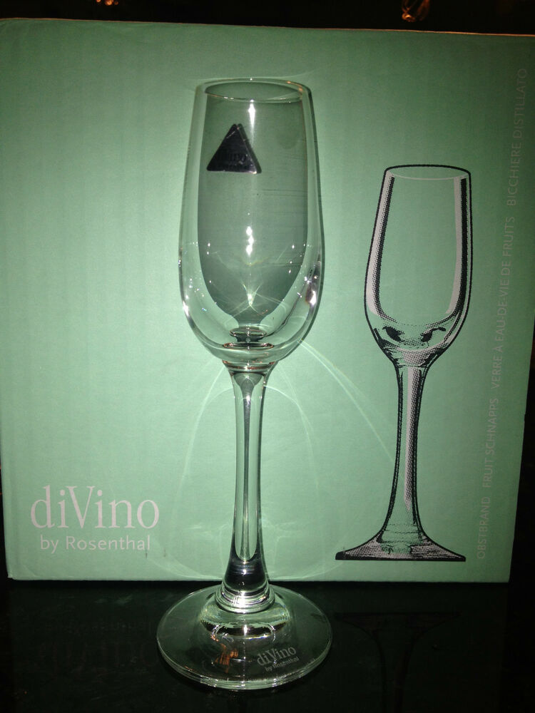 divino by rosenthal fruit schnapps glasses 6 pack made. Black Bedroom Furniture Sets. Home Design Ideas
