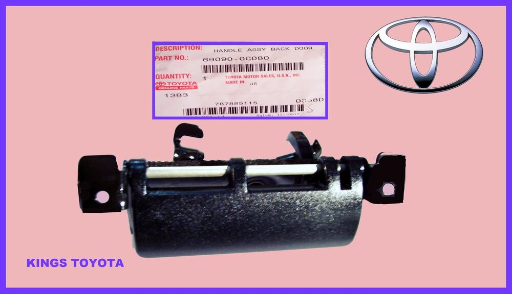Oem Toyota Sienna Sequoia Rear Outer Tailgate Liftgate