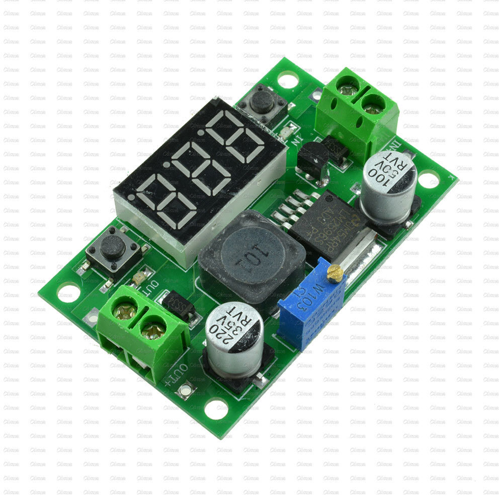 Dc Dc Buck Step Down Converter Module Lm2596 Voltage