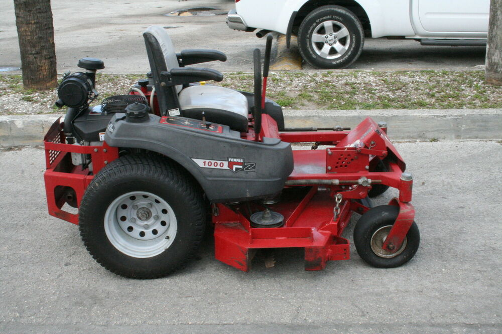 how to change blades on a ferris zero turn mower