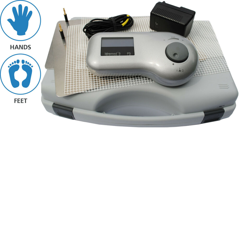 Idromed 5 Ps Iontophoresis Machine For Excessive Sweating