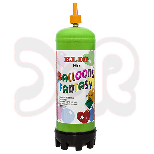 ballongas helium 2 2 liter f r 27 30 luftballons 25cm ballongasflasche einw ebay. Black Bedroom Furniture Sets. Home Design Ideas
