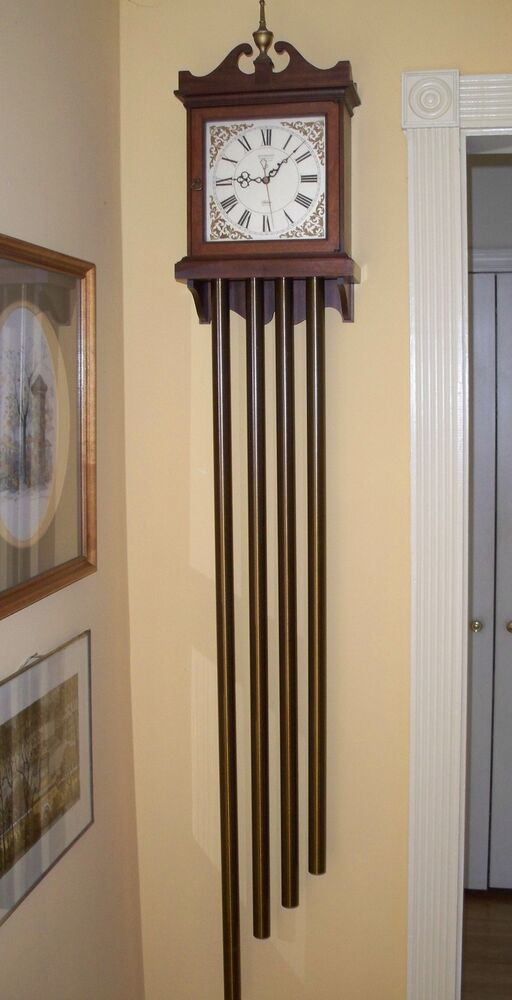 Vintage Rittenhouse Doorbell Clock W 4 Long Chimes