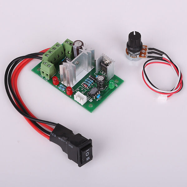 ccm6n dc motor speed regulator 6v 12v 24v 200w reversing