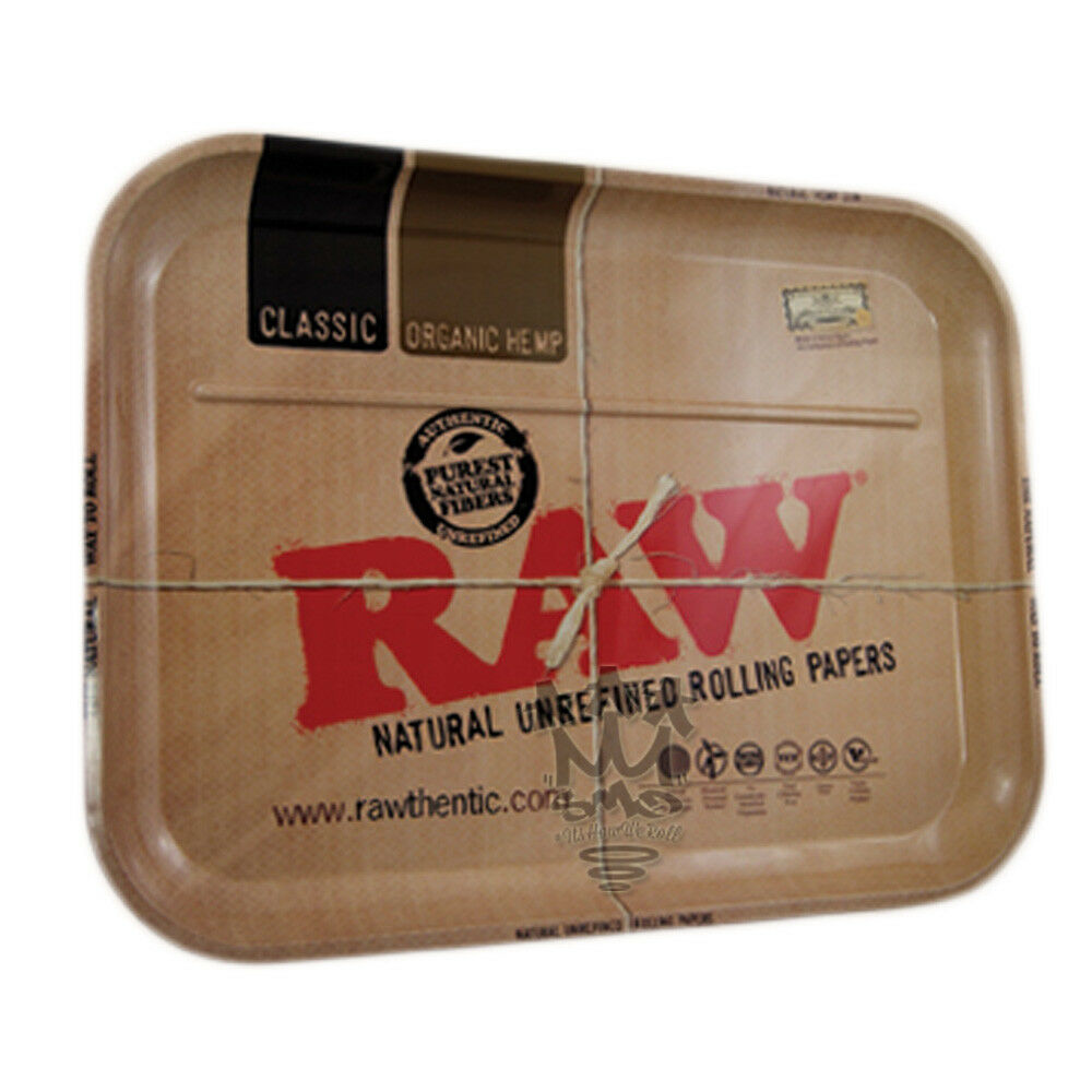 Raw Rolling Papers Xl Size Rolling Tray Huge 20 X 15
