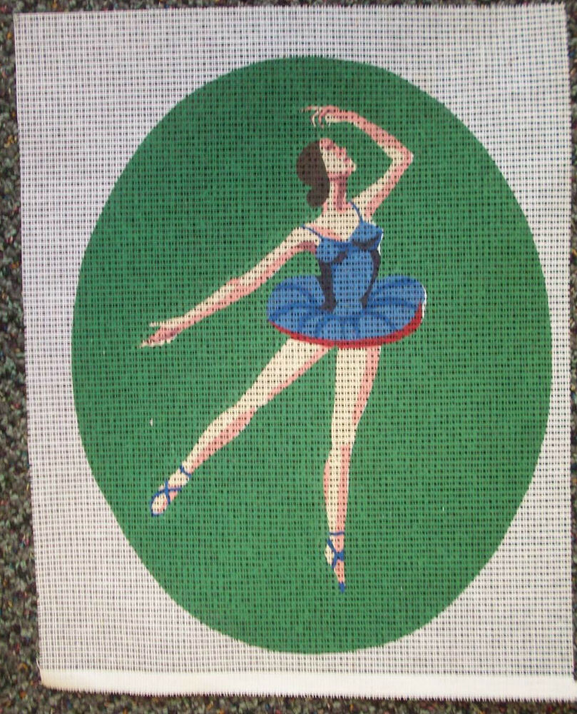 How To Stitch Painted Needlepoint Canvas