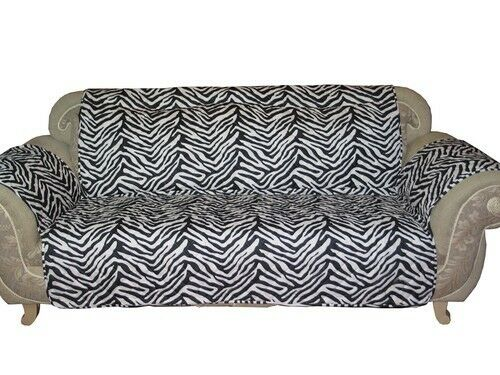 Zebra Pattern Quilted Micro Suede Pet Dog SofaLoveseat  : s l1000 from ebay.com size 500 x 375 jpeg 45kB