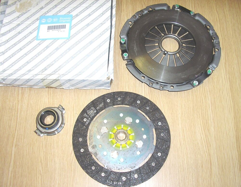genuine alfa romeo 147 156 1 9 jtd new clutch kit 71739501 3 piece ebay. Black Bedroom Furniture Sets. Home Design Ideas