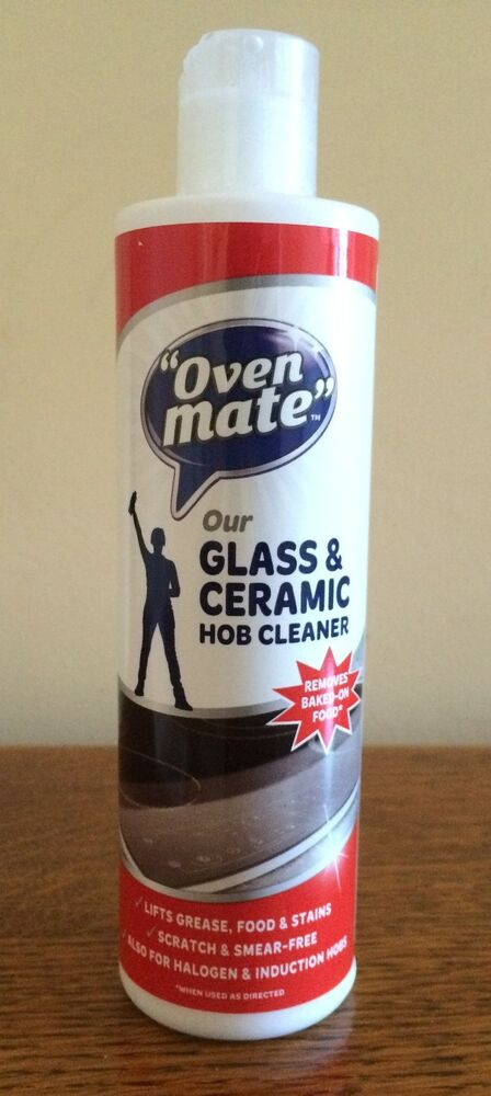 Oven Mate Glass Ceramic Hob Cleaner Cooker Top Grease Fat Clean Kitchen 300ml Ebay