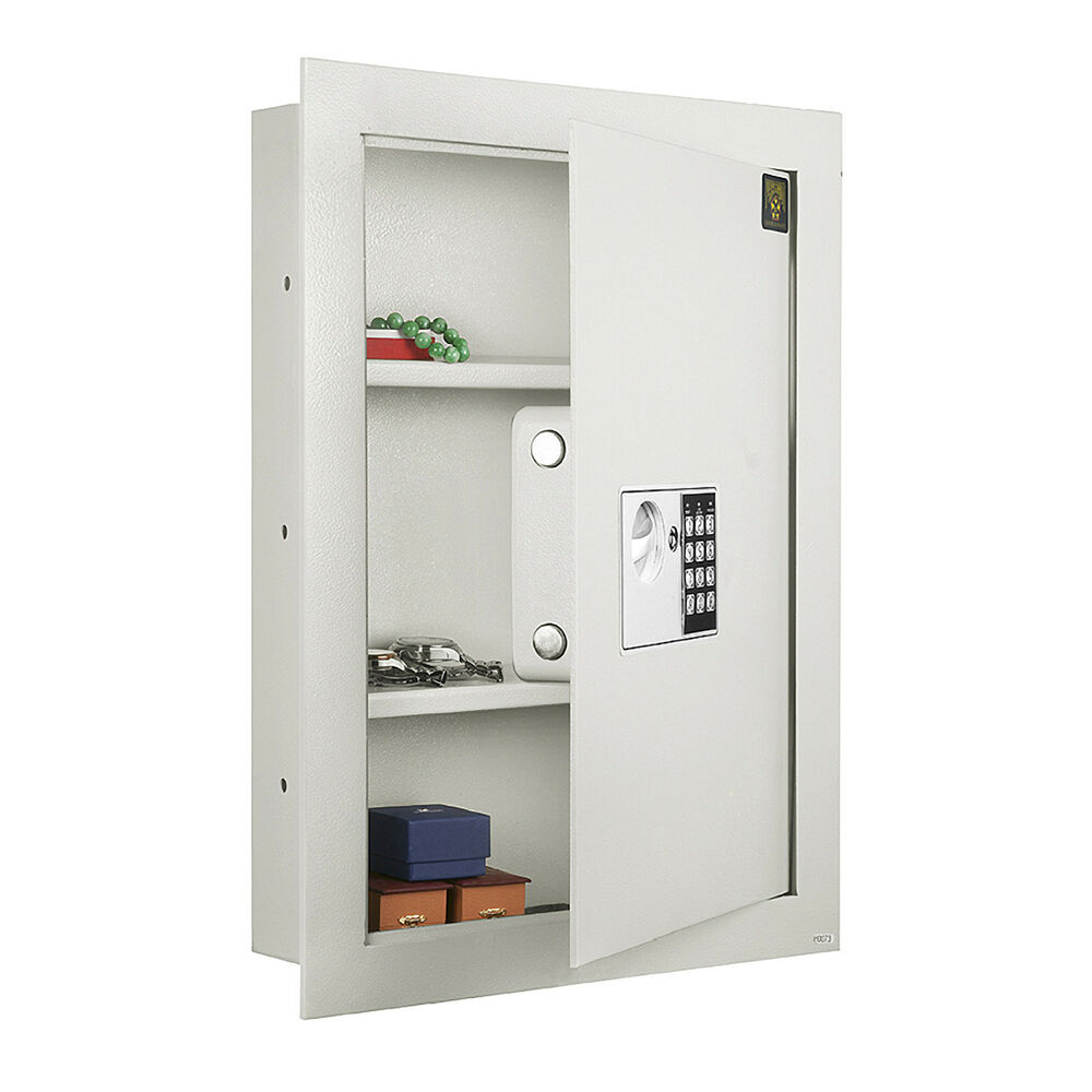 Heavy Duty Electronic Hidden Flat Wall Safe For Valuables