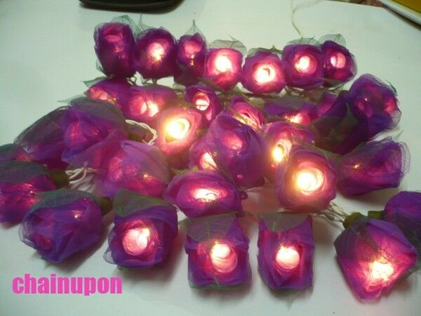 flower string lights for bedroom purple flowers flower string home indoor bedroom 18698