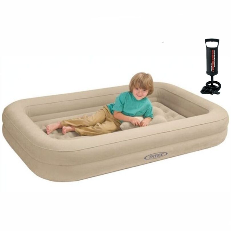 Kids Travel Cot Bed Inflatable Baby Child Toddler Air Beds
