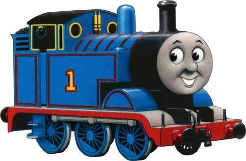 Thomas the tank engine train kids tv show window cling for Craft shows on tv