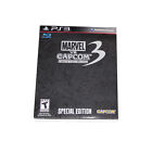 NEW MARVEL VS CAPCOM 3 SPECIAL EDITION LIMITED COLLECTORS SONY PLAYSTATION PS3