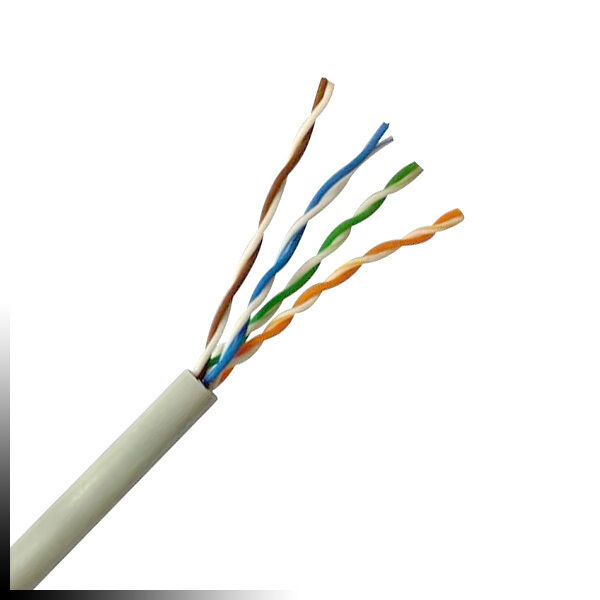 Cat 5e UTP PVC White Tested To 350MHz Pure Copper Conductors 305m Drum EBay