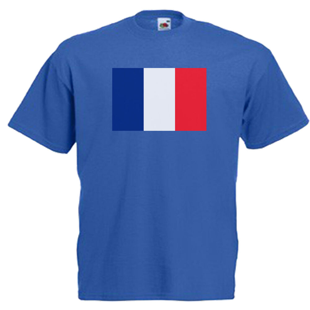 france french flag children 39 s kids t shirt ebay. Black Bedroom Furniture Sets. Home Design Ideas