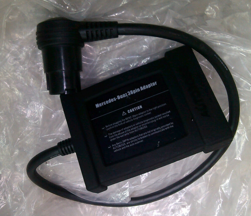 Pin On Mercedes Benz: Mercedes-Benz Diagnostic 38-pin Adapter For BENZ