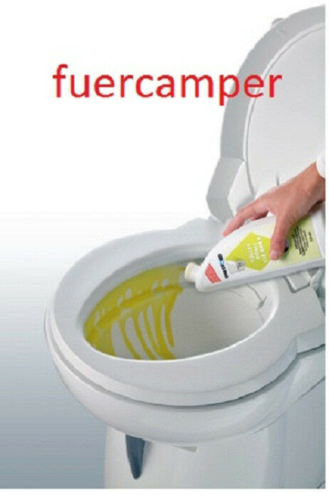 thetford toiletten reiniger toilette reinigen toilet bowl cleaner ebay. Black Bedroom Furniture Sets. Home Design Ideas