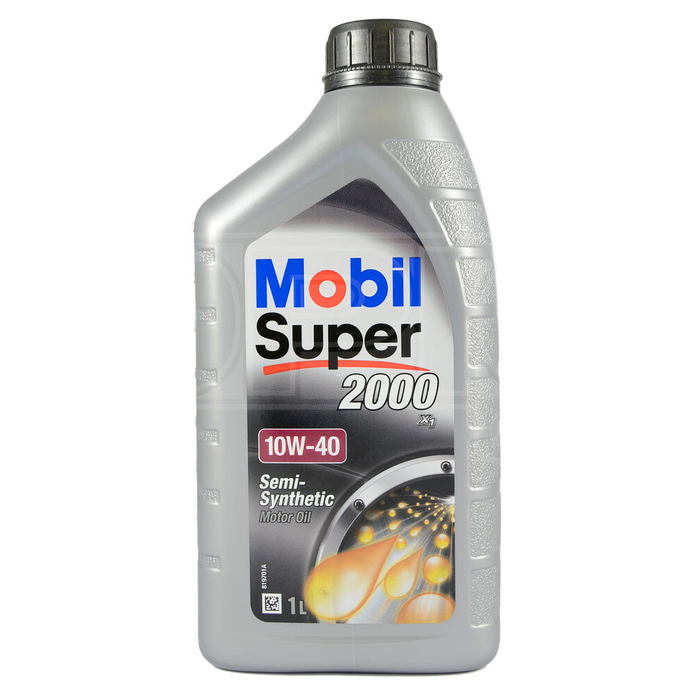 Mobil Super 2000 X1 10w 40 Semi Synthetic Engine Oil 10w40