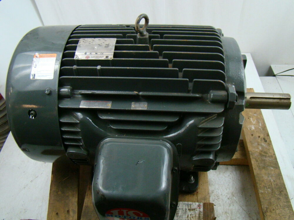 Us motors 3 phase 1785 rpm 40 hp electric motor 460v for Two phase electric motor
