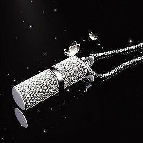 luxus schmuck usb stick 8 gb anh nger kette mit strass praktisch und elegant neu ebay. Black Bedroom Furniture Sets. Home Design Ideas