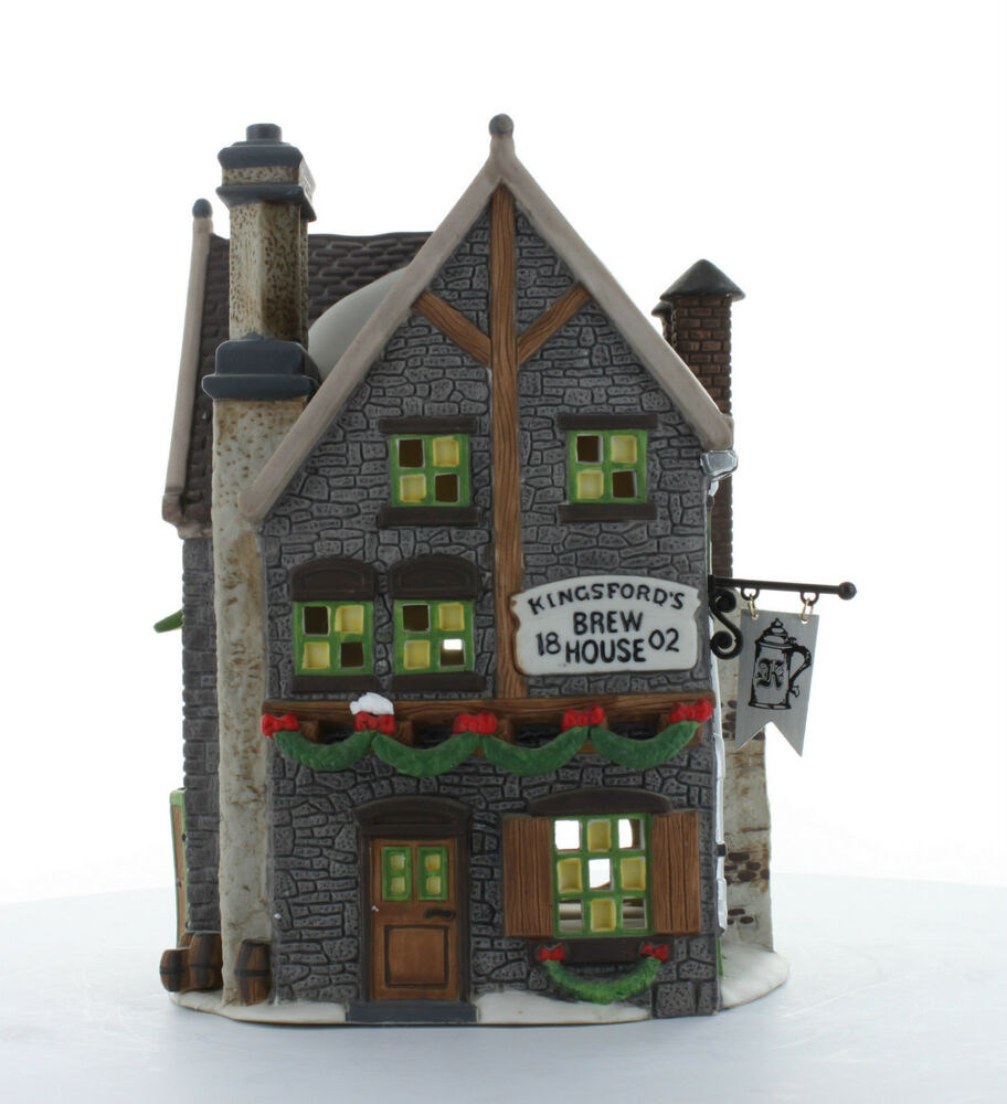 Department 56 Kingsford 39 S Brew House 1993 58114 Dickens
