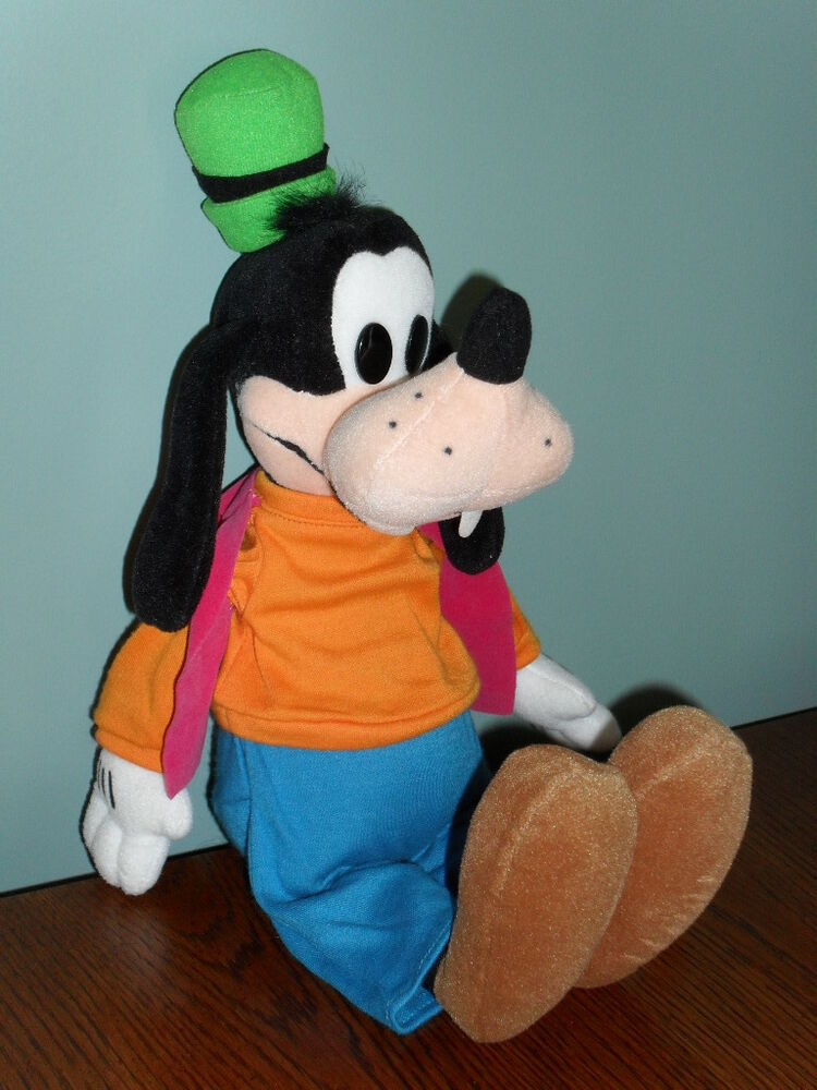 Toys For Disney : Quot stuffed disney store plush goofy toy doll ebay