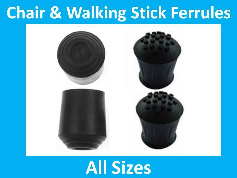 Ferrule Chair And Walking Stick Rubber Ferrules Feet Leg Chairs Sticks EBay
