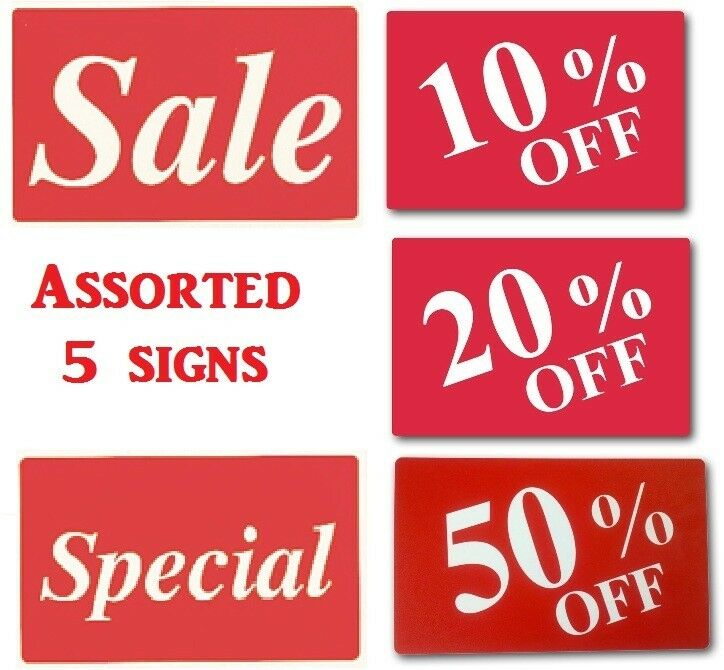 20 OFF SIGN