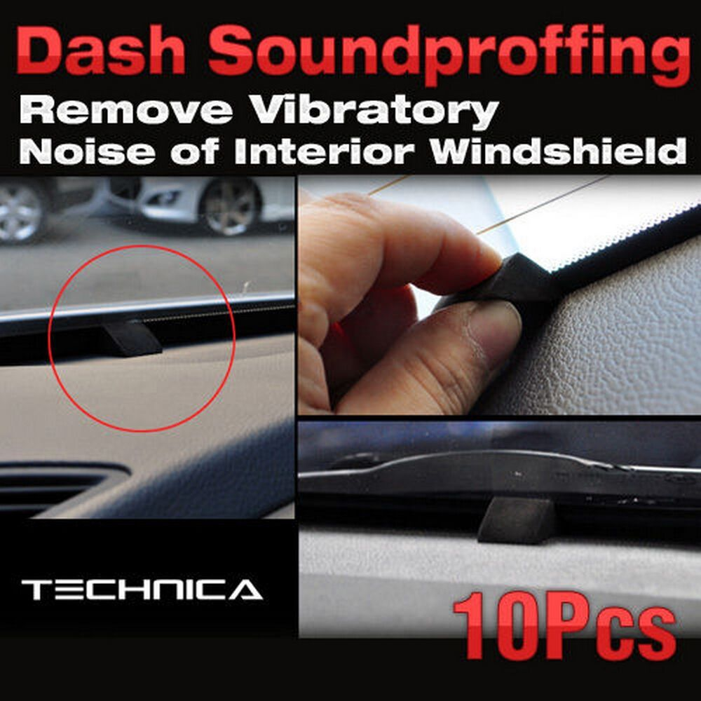 car auto dash soundproffing 1set 10pcs noise reduction felt tape 100cm ebay. Black Bedroom Furniture Sets. Home Design Ideas