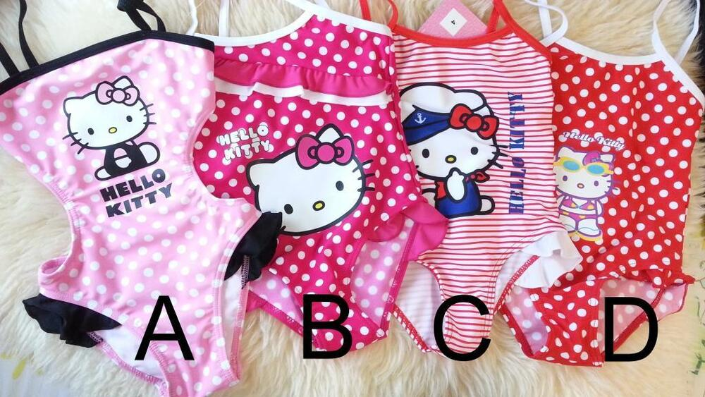Lovely Pink /Red Dots Striped Hello Kitty Baby Girl