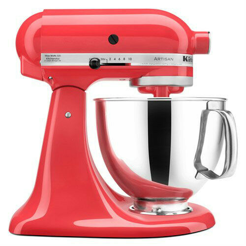 Kitchenaid tilt back head stand mixer 325 watt 5 quart ksm150pswm water melon 50946877020 ebay - Kitchenaid mixer bayleaf ...