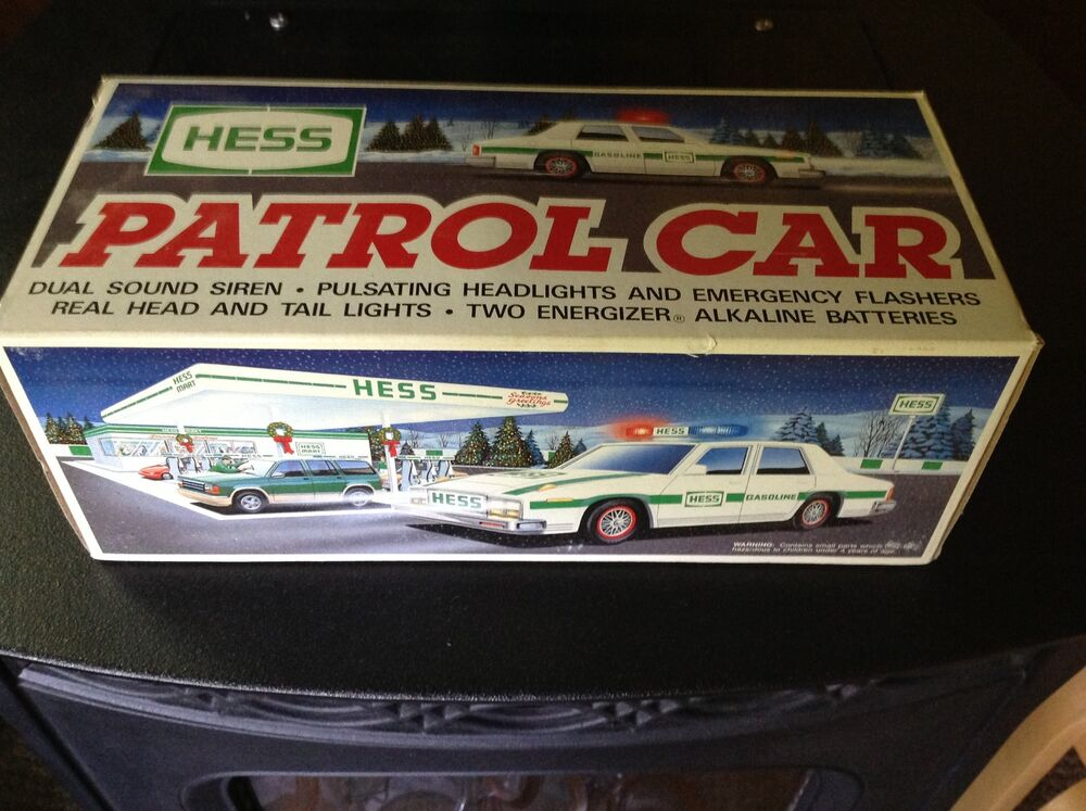 1993 hess patrol car new in box really niece ebay. Black Bedroom Furniture Sets. Home Design Ideas