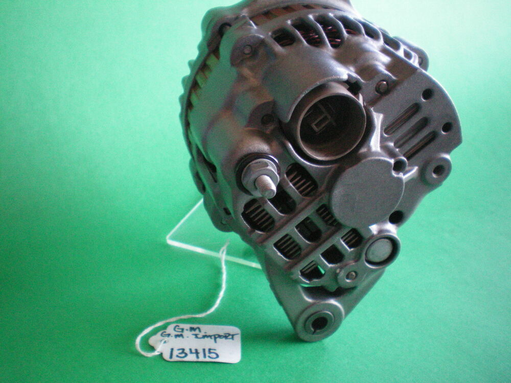 Geo Metro Alternator 55 Amp 1989 To 1995 3 Cylinder Engine