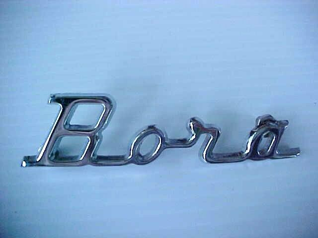 maserati bora emblem name plate script rear oem ebay. Black Bedroom Furniture Sets. Home Design Ideas