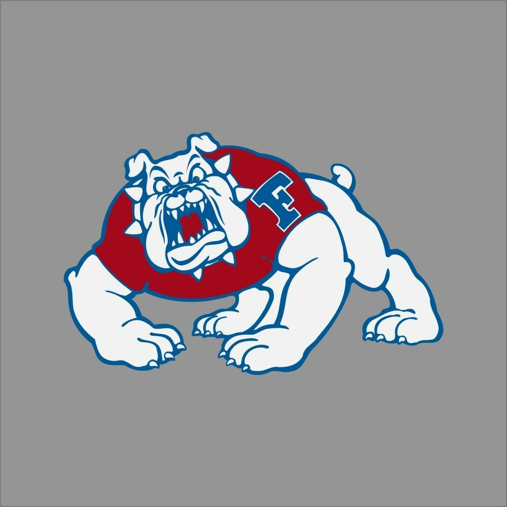 Fresno State Bulldogs NCAA College Vinyl Sticker Decal Car ...