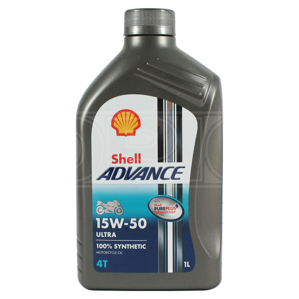 Shell Advance Ultra 4t 15w 50 Fully Synthetic Motorcycle Oil 15w50 1 Litre 1l Ebay