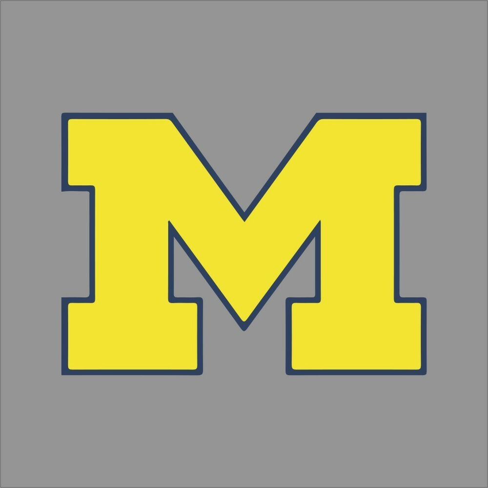 Michigan Wolverines Ncaa College Vinyl Sticker Decal Car
