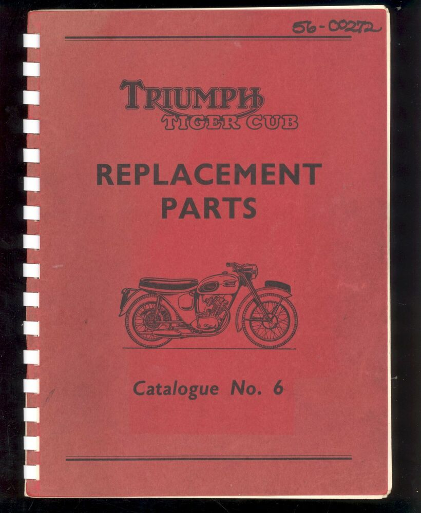 1959 Triumph Tiger Cub  T20 T20c T20s Motorcycle Parts