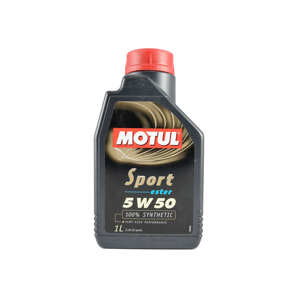 Motul sport 5w 50 fully synthetic ester engine oil 1 for Top 5 synthetic motor oil