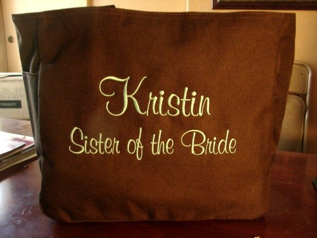 Cheap Wedding Gifts For Bride: 5 CHEAP Bride Wedding TOTE BagS FRIEND BRIDAL GIFT