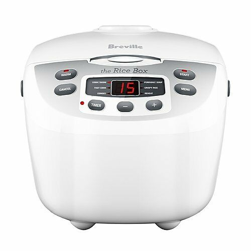 breville rice cooker how to use