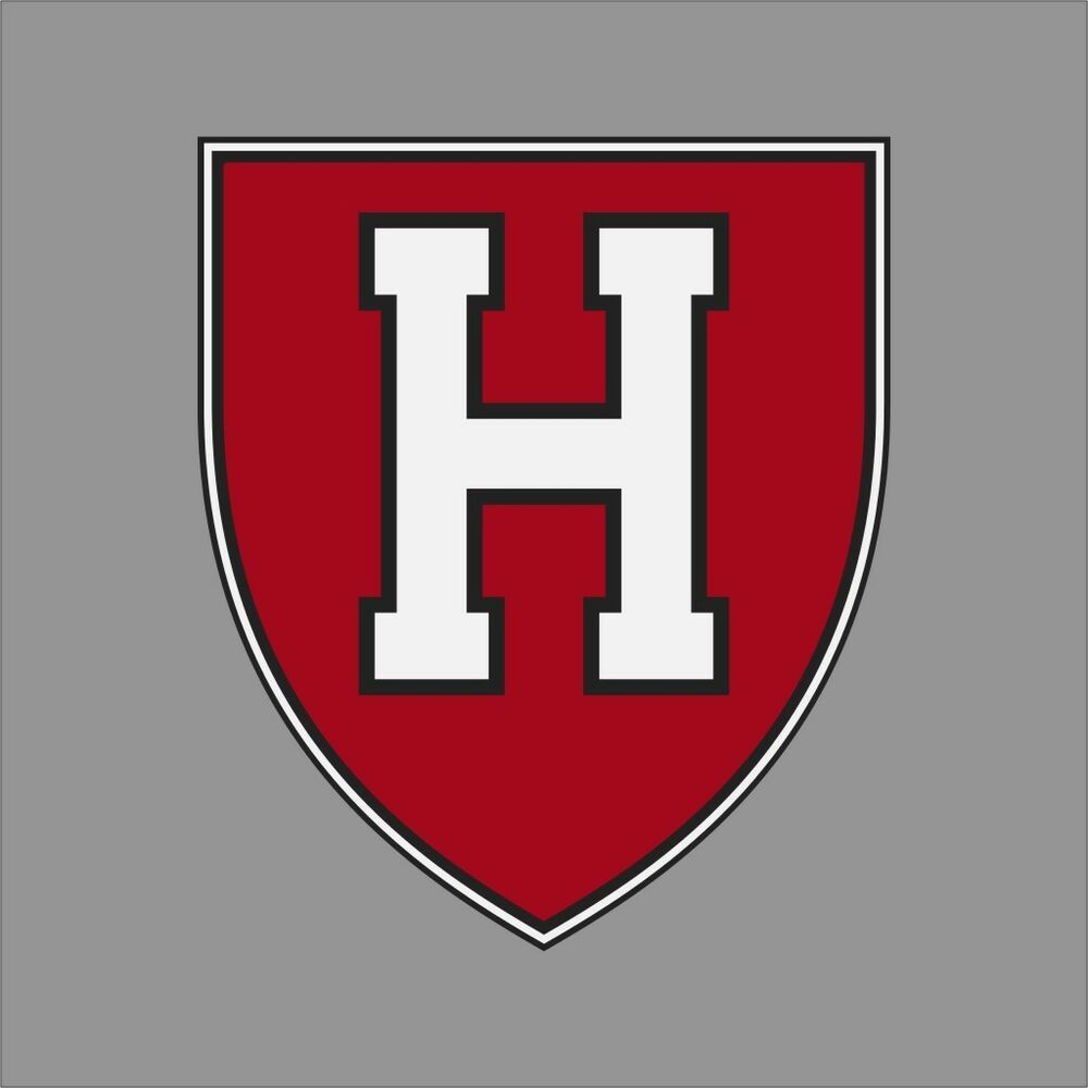 Harvard Crimson Ncaa College Vinyl Sticker Decal Car