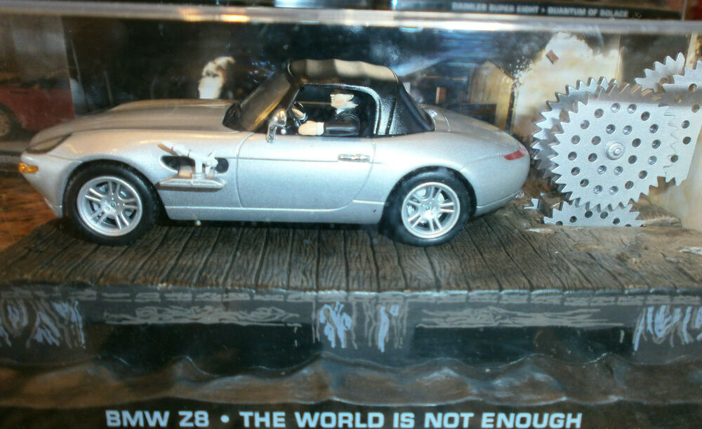 James Bond Car Collection Bmw Z8 The World Is Not Enough