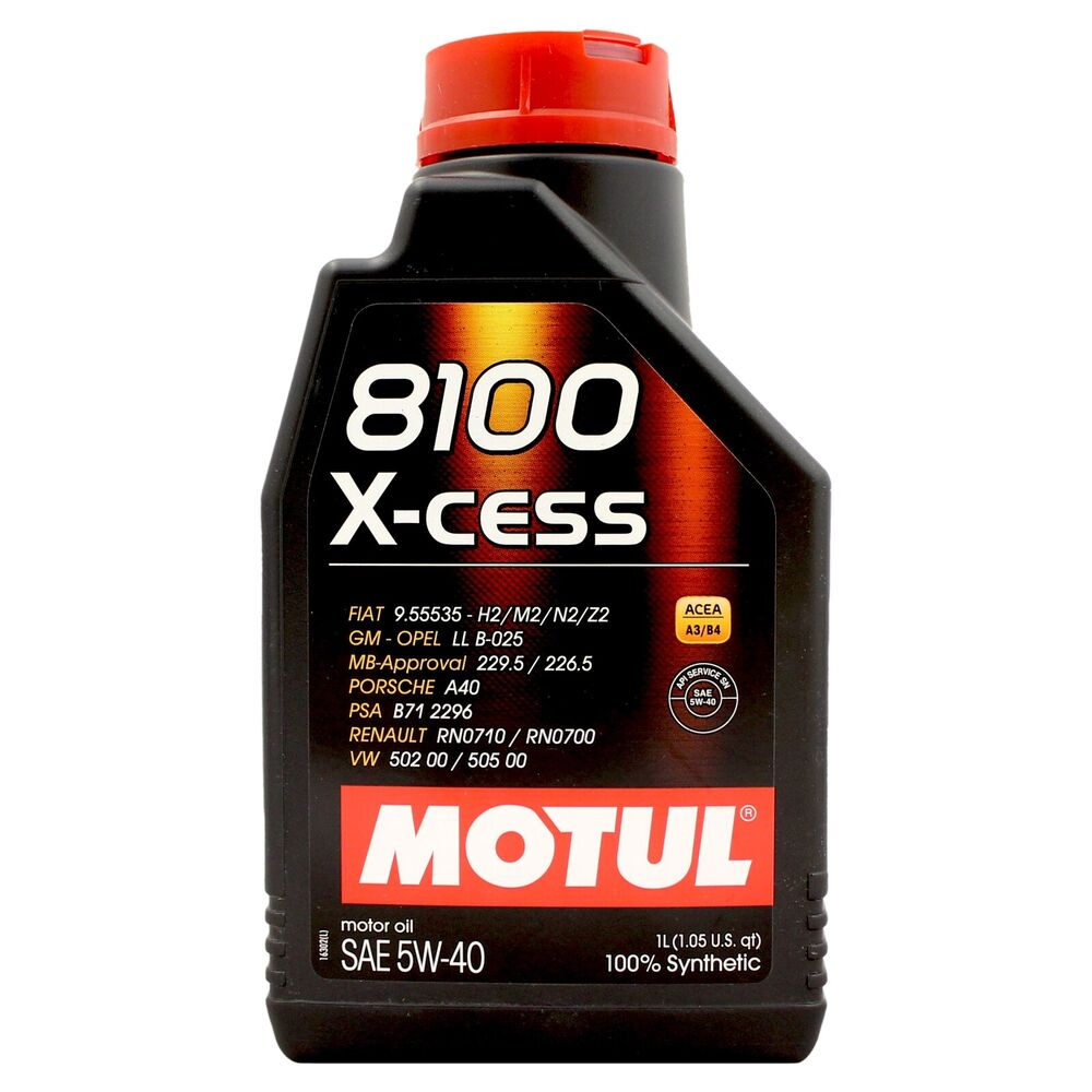motul 8100 x cess 5w 40 fully synthetic engine motor oil 1. Black Bedroom Furniture Sets. Home Design Ideas