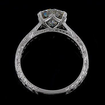 vintage princess style ring settings antique