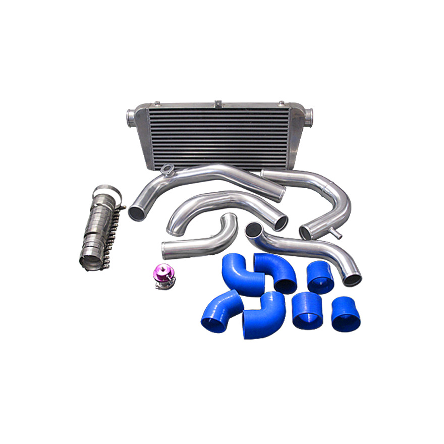 240sx twin turbo kit  cx aluminum intercooler piping kit for top mount turbo for ...